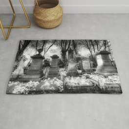 Highgate Cemetery London Rug
