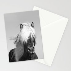 Portrait of a Horse in Scotish Highlands Stationery Cards