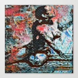 O: Walls Oppressive Canvas Print