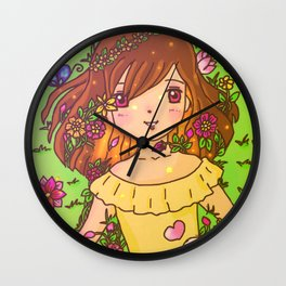 Peace in my heart Wall Clock