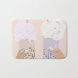 Pink Bubble Tea Bath Mat