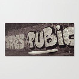 Graffity 2 Canvas Print