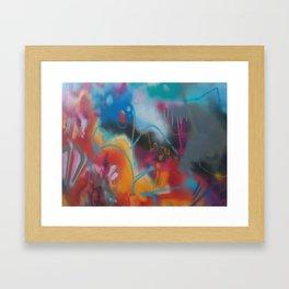 'Hyperactive Freedom' - Photography by Taran Burns Framed Art Print