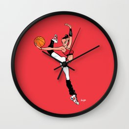 CoolNoodle with Jordan6 Carmine Wall Clock