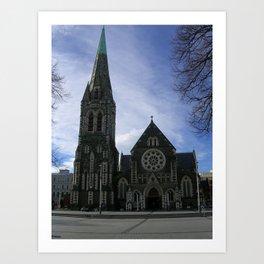 Christchurch Cathedral Art Print