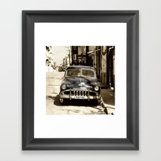 De Soto Blues  Framed Art Print