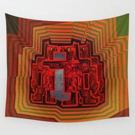 Three's a Crowd / Robotics Wall Tapestry
