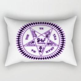 Sebastian Michaelis Sigil Dark (white bg) Rectangular Pillow
