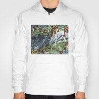 music notes Hoodies featuring Music Notes by Paxelart