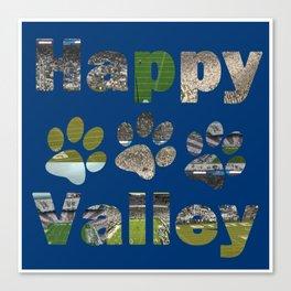 Happy Valley Nights Canvas Print