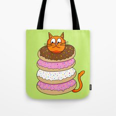 More Cats & Donuts Tote Bag
