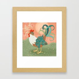 I've Got To Crow Framed Art Print