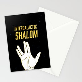 Intergalactic Shalom Stationery Cards