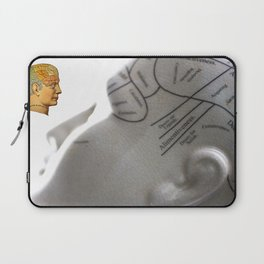 Phrenology | A Picture of Good Health circa 1881 Laptop Sleeve