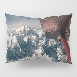 Flying Around Denali Pillow Sham