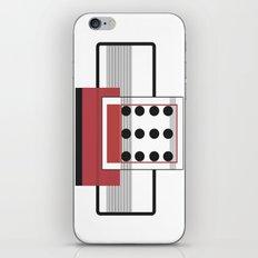 Dominoeffekt iPhone & iPod Skin