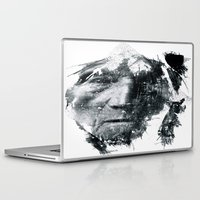 be brave Laptop & iPad Skins featuring Brave  by C A R E Y  M O R T O N