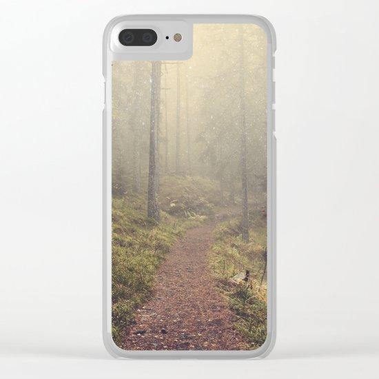 Norwegian Woods Clear iPhone Case