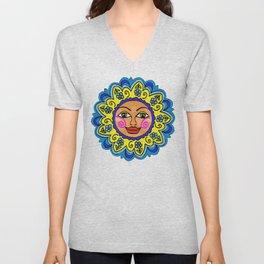 Arizona Sunshine Girl Unisex V-Neck