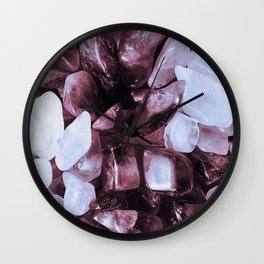 Crystal Chippings Wall Clock