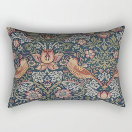 Strawberry Thief by William Morris Rectangular Pillow