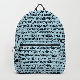 Sanskrit // Light Blue Backpack