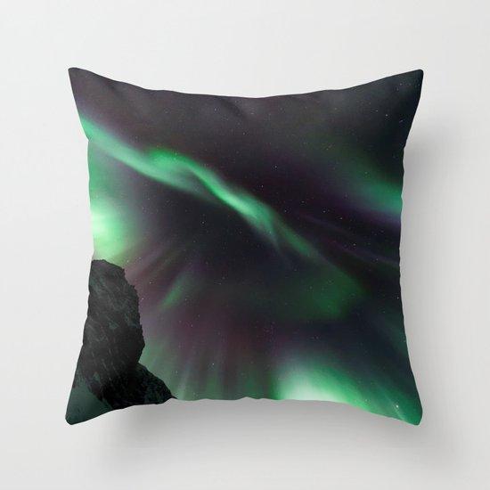 Aurora V Throw Pillow