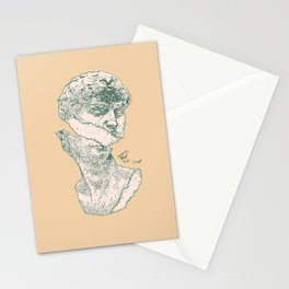 GreekStatue Stationery Cards