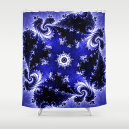"""Fractality Of Ages"" Shower Curtain"