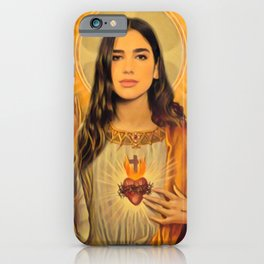 Dua Lipa Saint iPhone Case