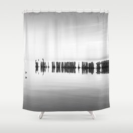 Salton Sea 6 Shower Curtain