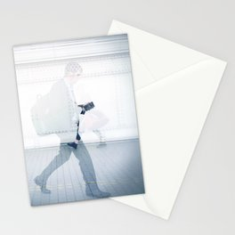 """""""they who should love me / walk right through me"""" Stationery Cards"""