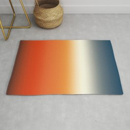 sunset sky color gradient - colorful abstract background Rug