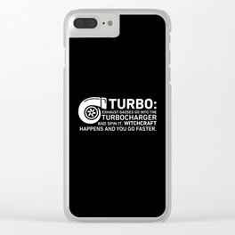 turbo Clear iPhone Case