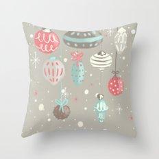 Sweet winter Throw Pillow