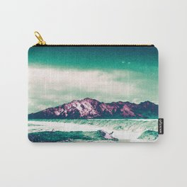 Mountains Rising Above the Salt Flats Carry-All Pouch