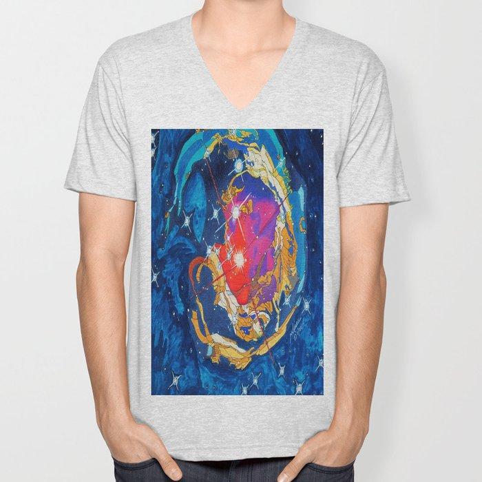 Cosmos 3 Unisex V-Neck