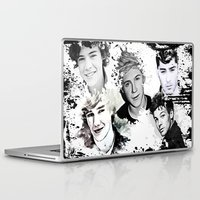 1d Laptop & iPad Skins featuring 1D Splat by D77 The DigArtisT
