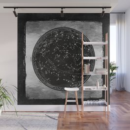 Antique Map of the Night Sky Wall Mural