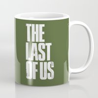 the last of us Mugs featuring The Last Of Us by Pixel Design