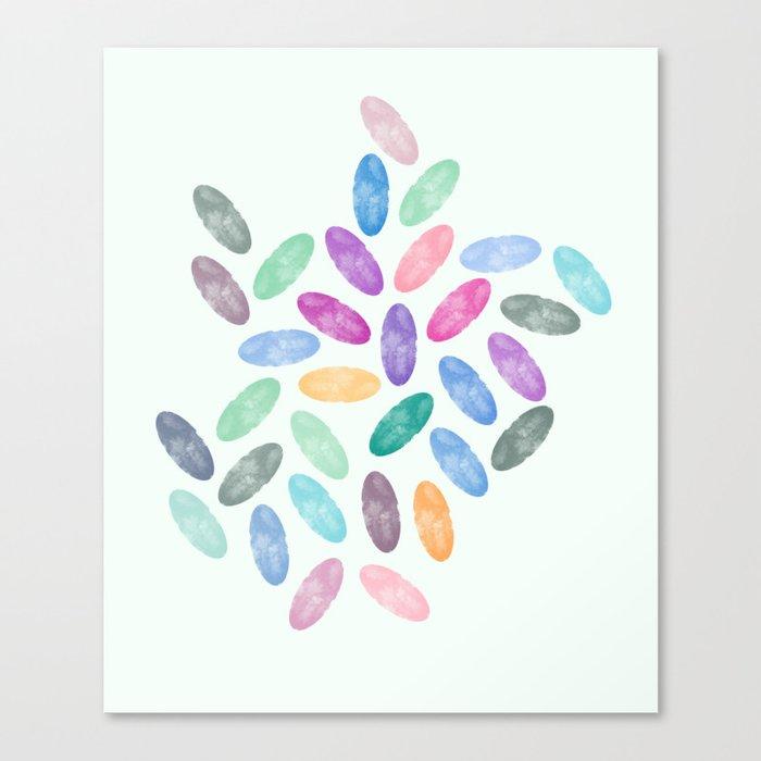 Lovely Pattern VI Canvas Print