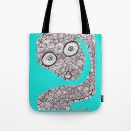 Spiral Snake Tote Bag