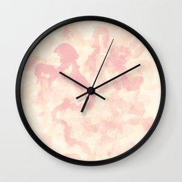 Filaments Pink Wall Clock