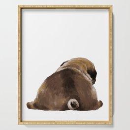 Pug Butt Serving Tray