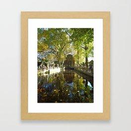 La Fontaine de Médicis Framed Art Print