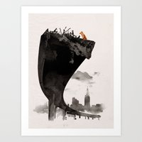 the last of us Art Prints featuring The Last of Us by Robert Farkas