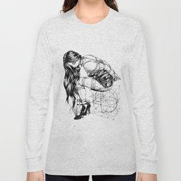 Lady on Cube Long Sleeve T-shirt