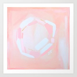Blush Pink Art Print