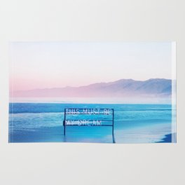 This Must Be My Dream Pastel Paradise Beach Vibe Rug