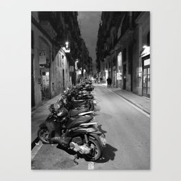 Street Raval Canvas Print
